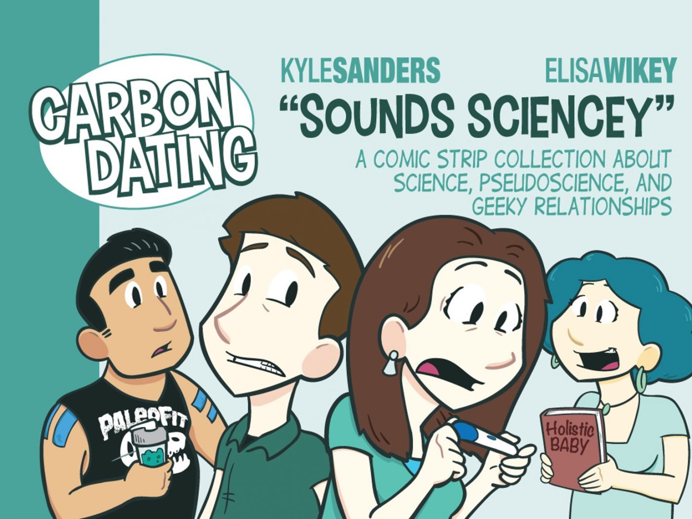 "Science Cartoonist Series:  ""Carbon"" Kyle Sanders"