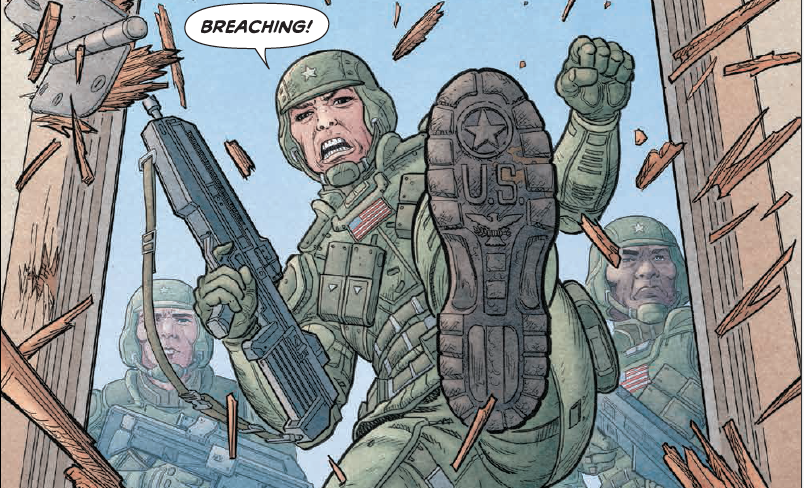 Is It Good? We Stand on Guard #2 Review