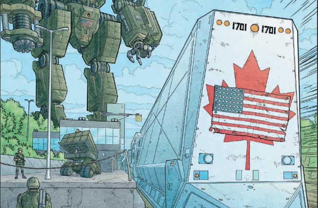 Is It Good? We Stand On Guard #3 Review