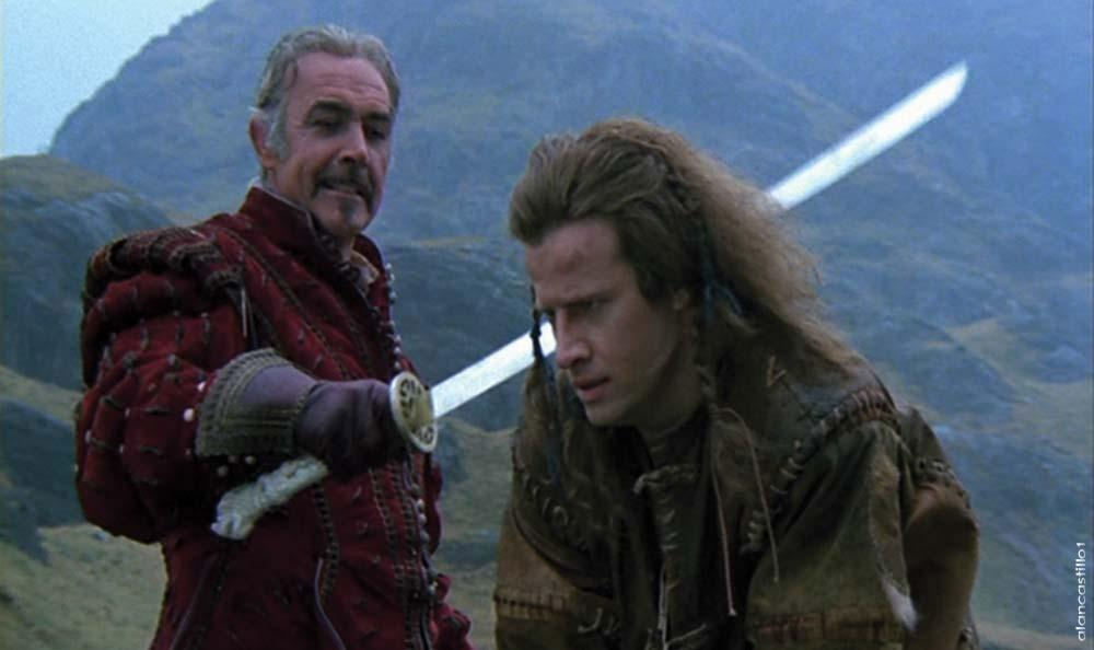 Highlander movie characters kerger