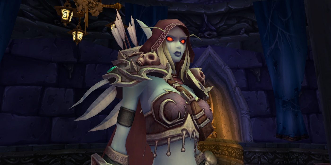 Sylvanas Windrunner.  Love her or hate her, she's been an integral character in World of Warcraft's lore ever since she broke away from the Lich King's grasp and forged the Forsaken faction as we know it today.