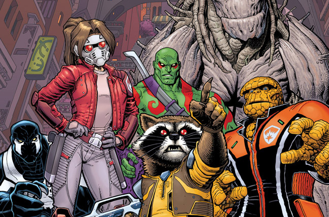Marvel Comics Preview: Guardians of the Galaxy #1