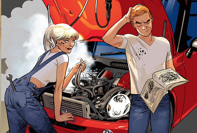 It's safe to say the best new series of the year is Archie due to some endearing art, compelling characters and a modernization of characters that keeps their charm but upgrades them for the 21st century.