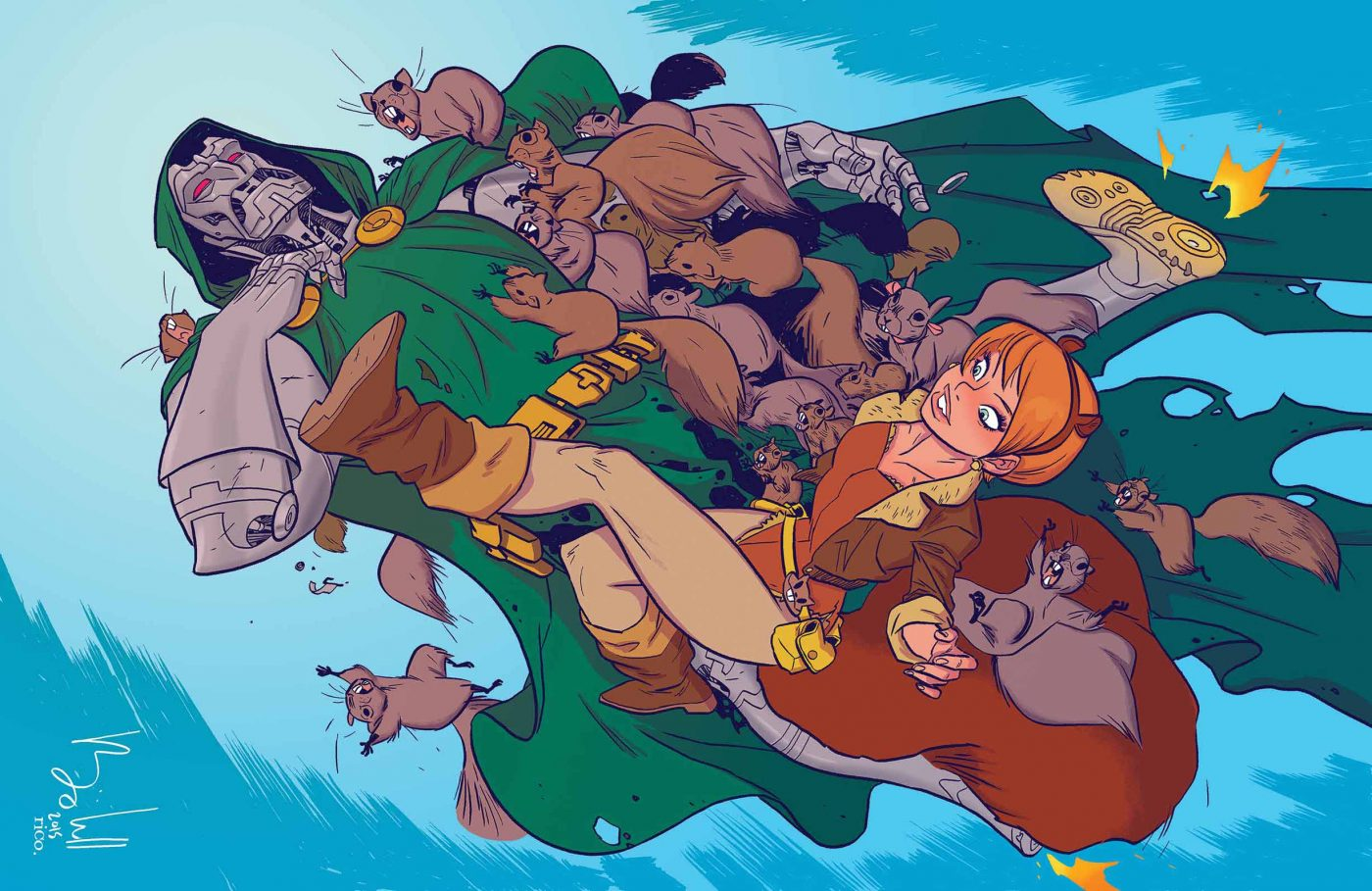 Marvel Comics Preview: The Unbeatable Squirrel Girl #1