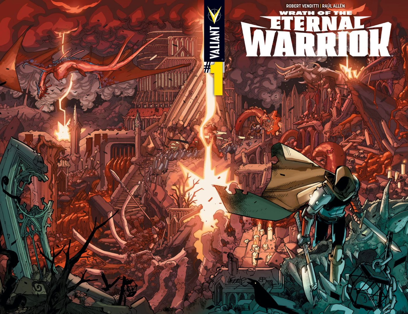 Valiant Comic Preview: Wrath of the Eternal Warrior #1