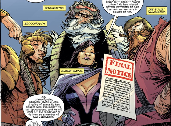 Is It Good? The Paybacks #1 Review