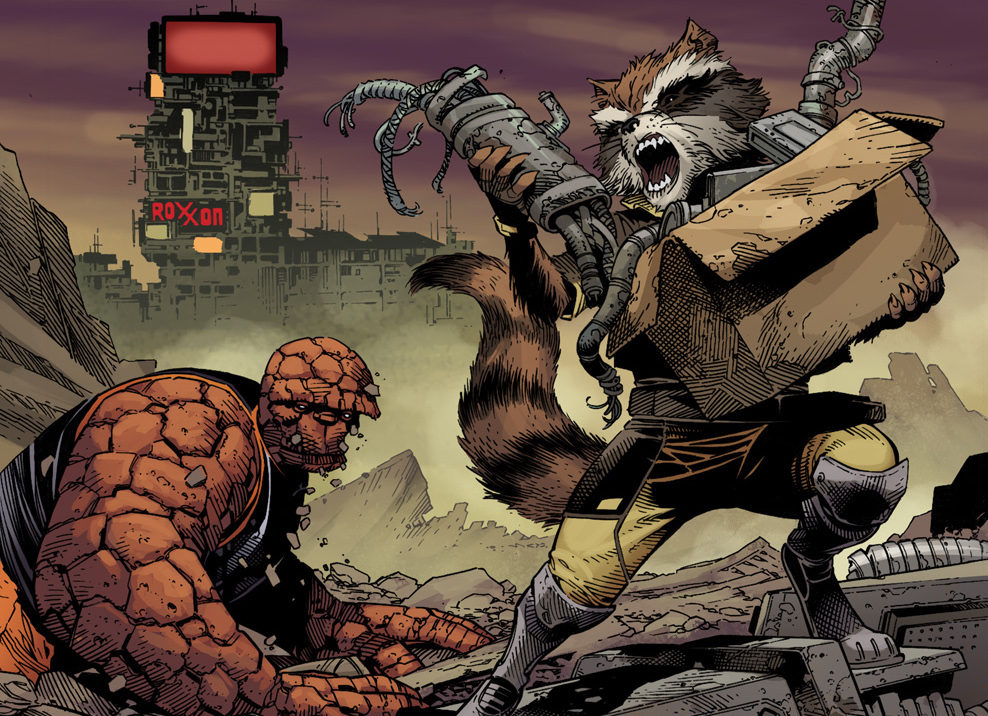 Marvel Preview: Guardians of Infinity #1