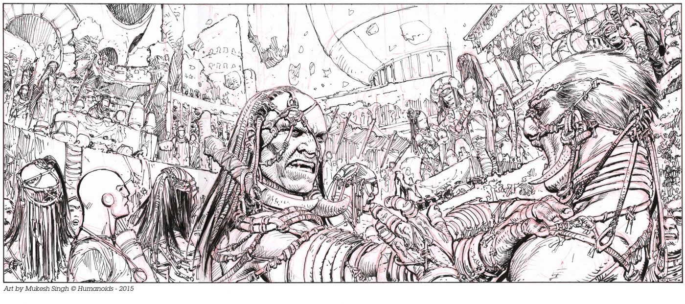 Humanoids Preview: The Metabarons