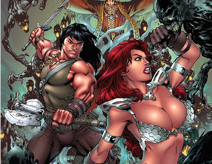 Red Sonja/Conan #3 Review