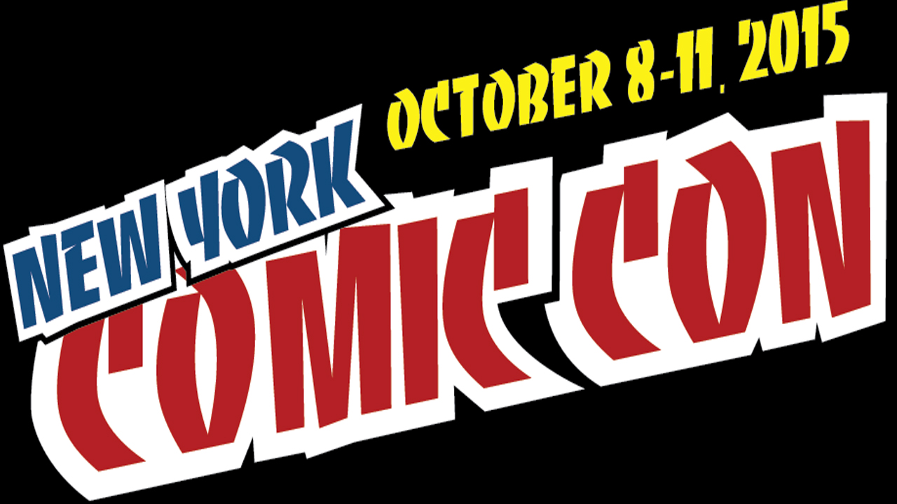 Moderator Judy Stephens opened the 2015 NYCC Women of Marvel panel by introducing a huge panel that included Sana Amanat, editor Katie Kubert, and costume designer Anna Foley. Stephens reminds us there are 17 female-led titles right now, when a few years ago there were zero!