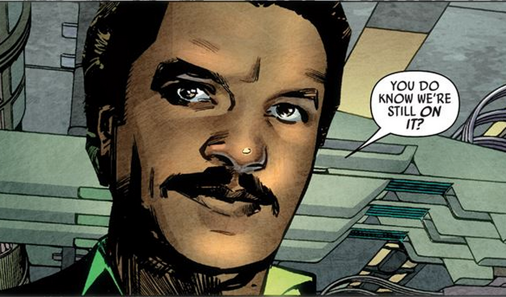 All good things must come to an end and so too does Lando, the best damn Star Wars comic book I've read in ages.