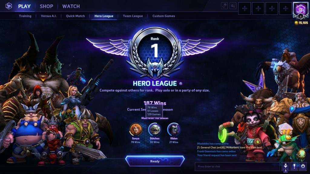 Heroes Of The Storm Cannot Enter Matchmaking