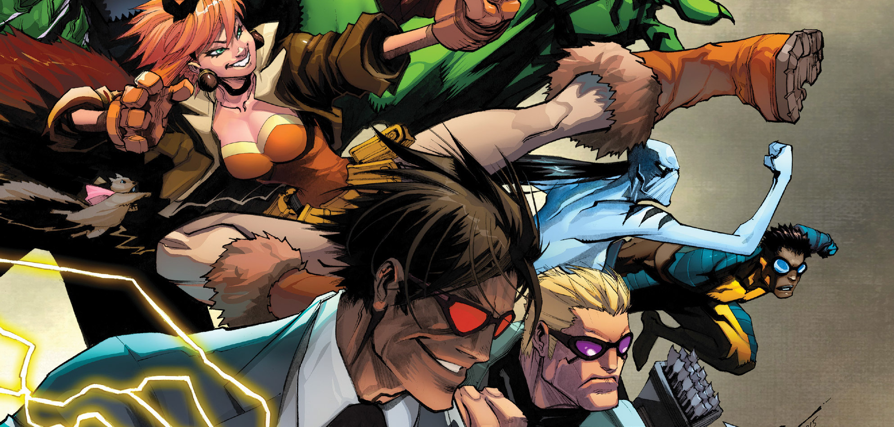 Sporting a colorful, unique cast of characters (who hopefully don't plan on blowing up planets or mind wiping people who disagree with them), the All-New All-Different New Avengers #1 hits the stands.