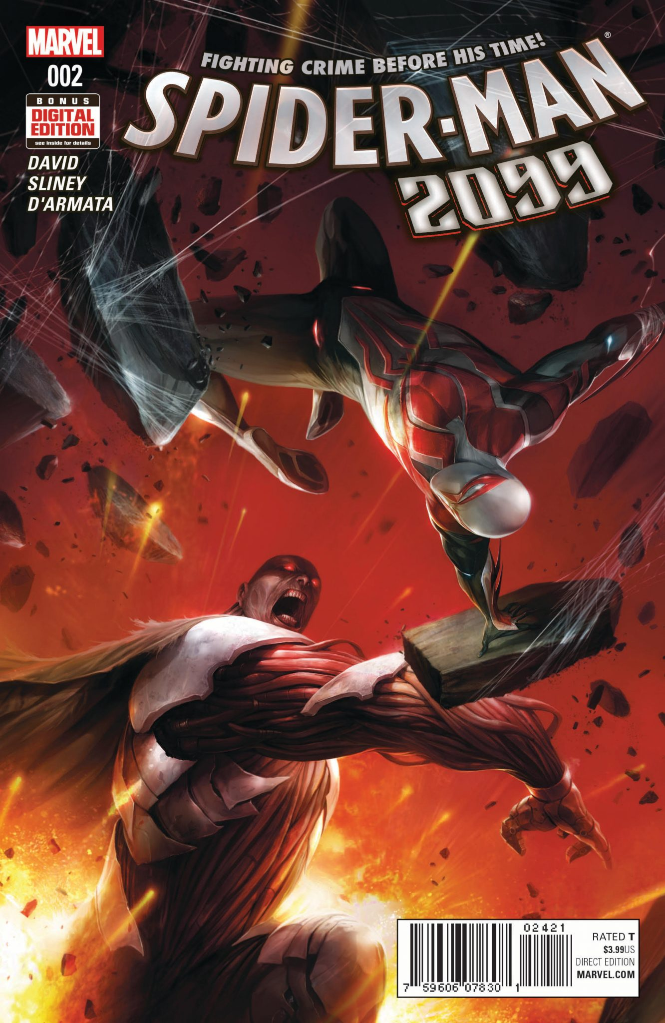 Marvel Preview: Spider-Man 2099 #2