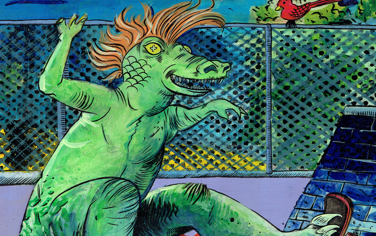 Who Knew Dinosaurs Could Skateboard: An Interview With Creator Jack Turnbull