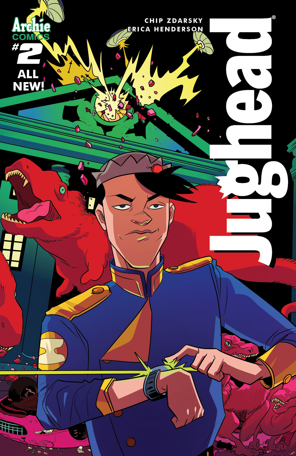 Last month's issue of Jughead was awesome! It's clear that under a competent and creative team of artists, this classic character has been revitalized for a modern age.