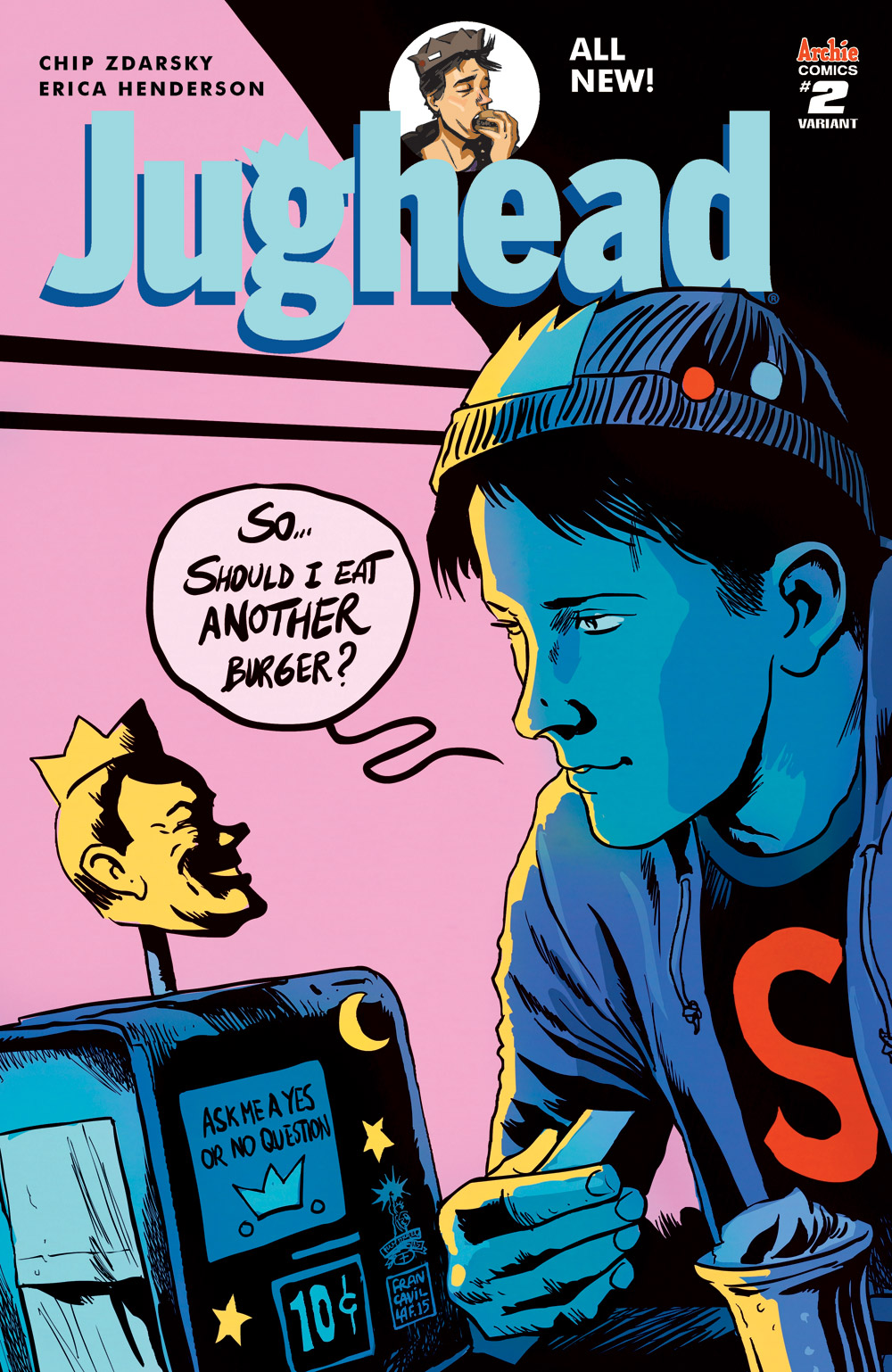 Archie Preview: Jughead #2