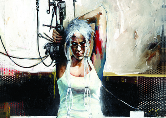 Press: The Empty Zone, Vol 1. is a Haunting Cyberpunk Read