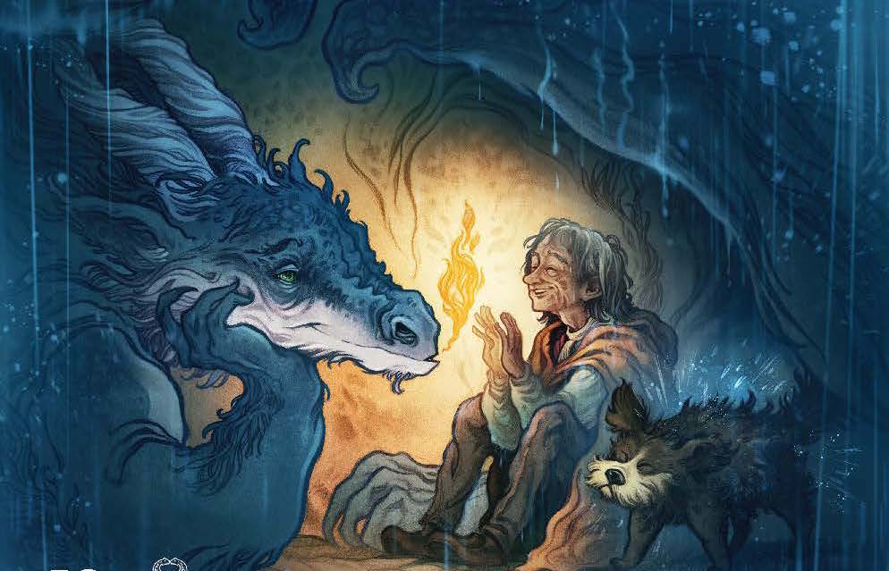 Jim Henson's The Storyteller: Dragons #1 Review