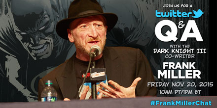 Twitter Q&A with Dark Knight III: The Master Race Co-writer Frank Miller