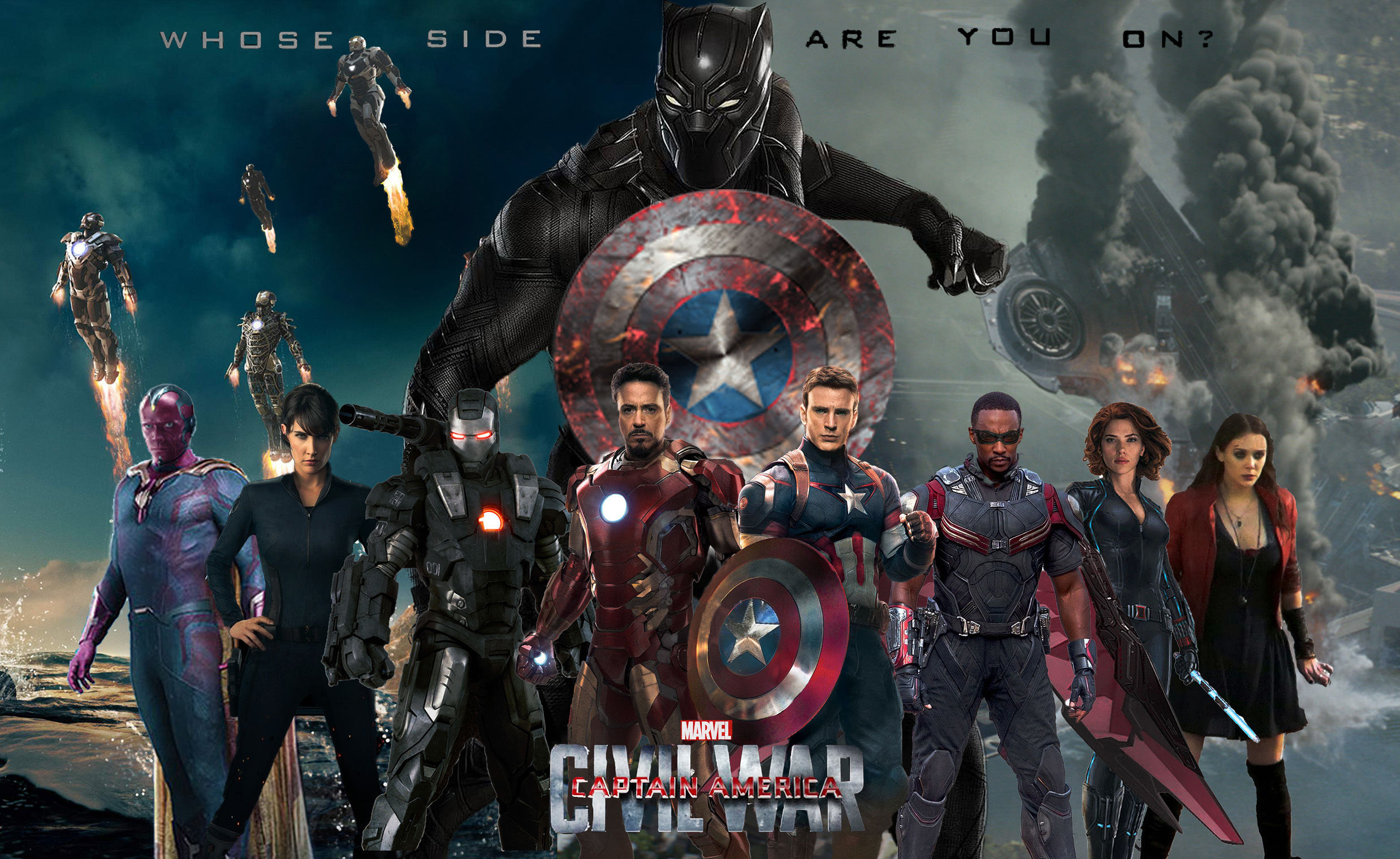 The trailer for the next installment in the Captain America series as well as the Marvel Cinematic Universe is here in a two and a half minute clip that shows the Avengers split down the middle.