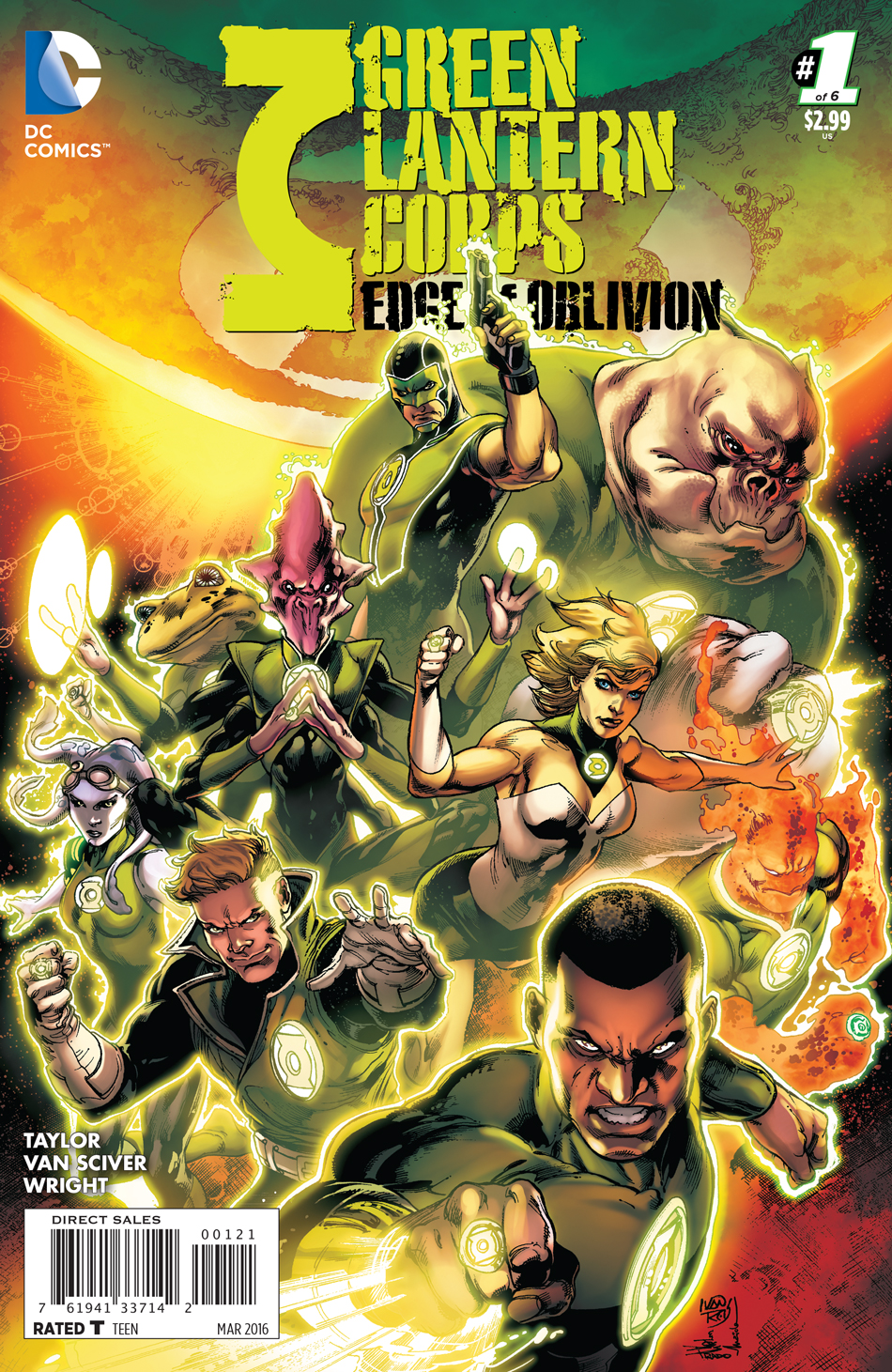 DC Preview: Green Lantern Corps: Edge of Oblivion #1