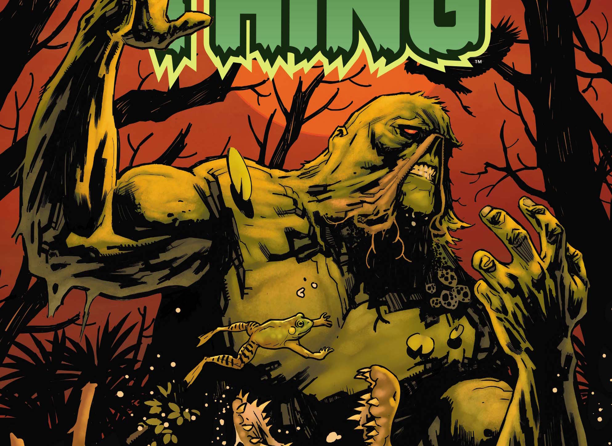 DC Preview: Swamp Thing #1