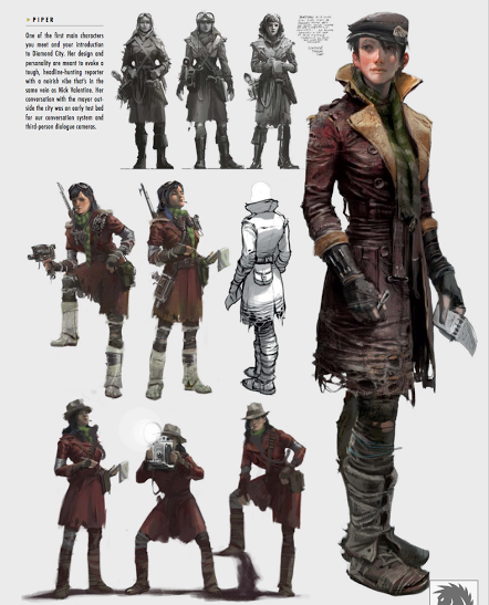 Character Design Masterclass Pdf : The art of fallout review aipt