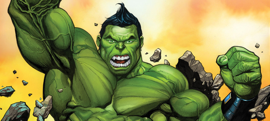 I really liked Totally Awesome Hulk #1.  It was fun.  It had great art.  It had Hulk punching some bastard, two-headed child of Gamera in the heads.