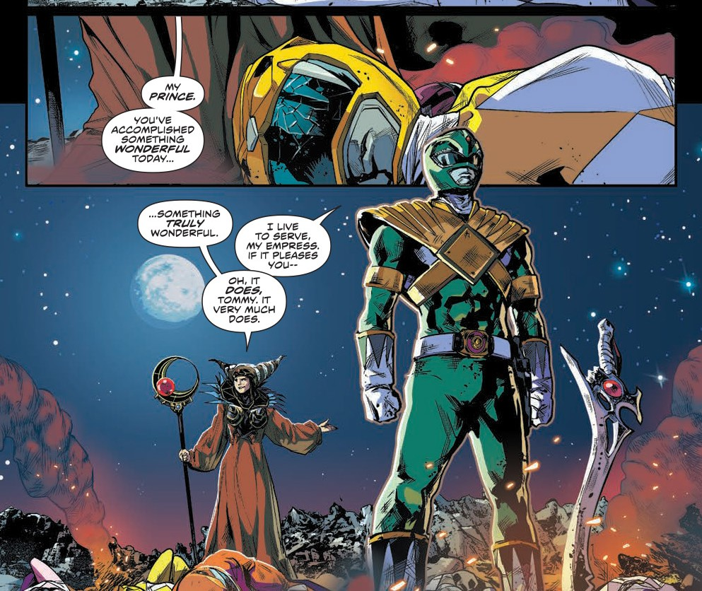 BOOM! Studios Preview: Mighty Morphin Power Rangers #0