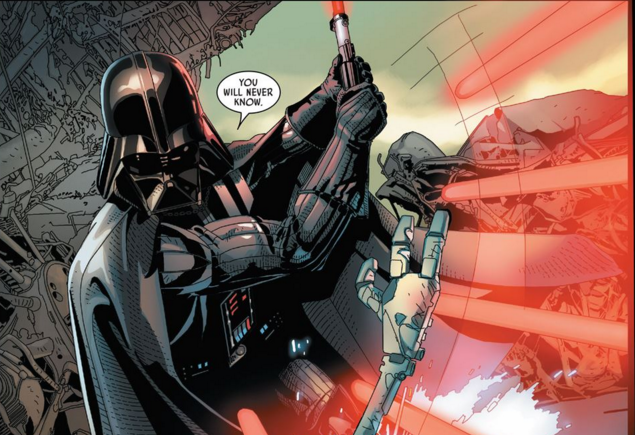 """The 'Vader Down' event series ends in this issue. Will Vader """"go down"""" and will the Rebels take him there? Will I continue to intro this review as if I haven't read a single issue? More below, but is it good?"""