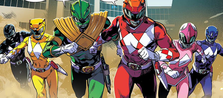Mighty Morphin Power Rangers #0 Review
