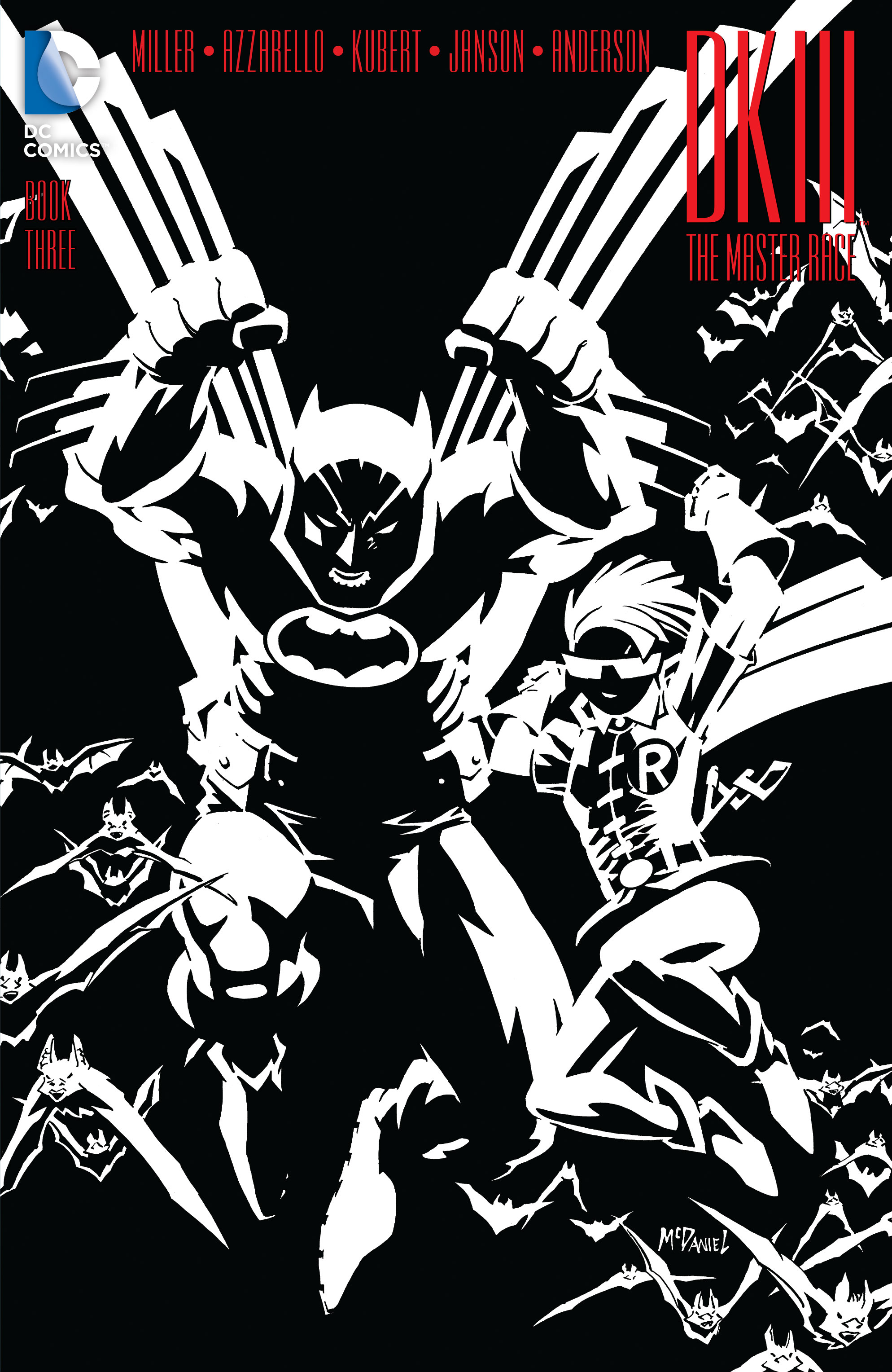 DC Preview: Dark Knight III: The Master Race Book 3 Covers