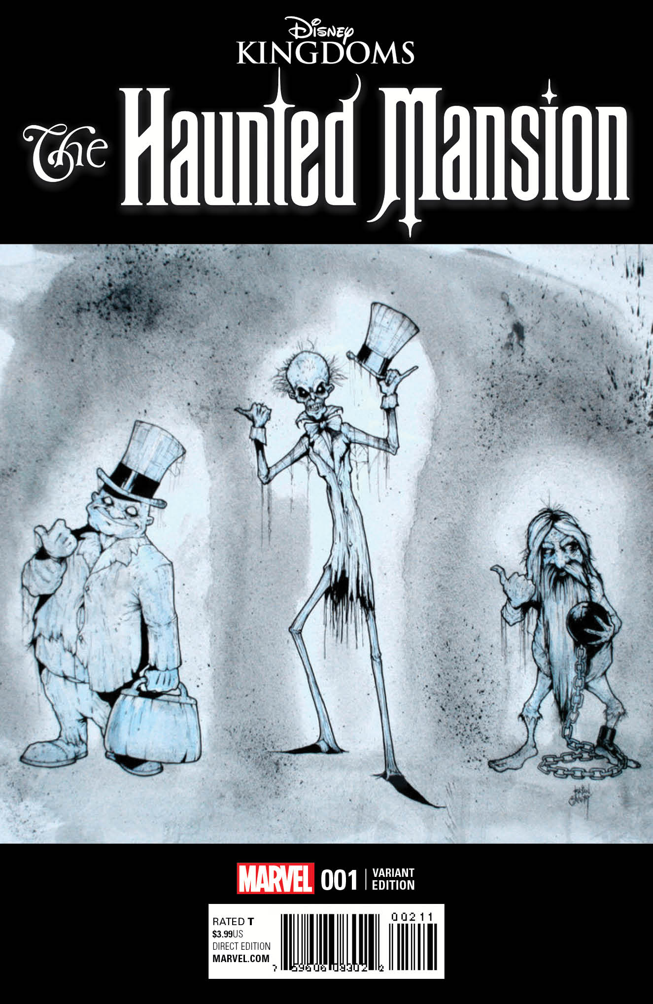 Marvel Preview: Haunted Mansion #1