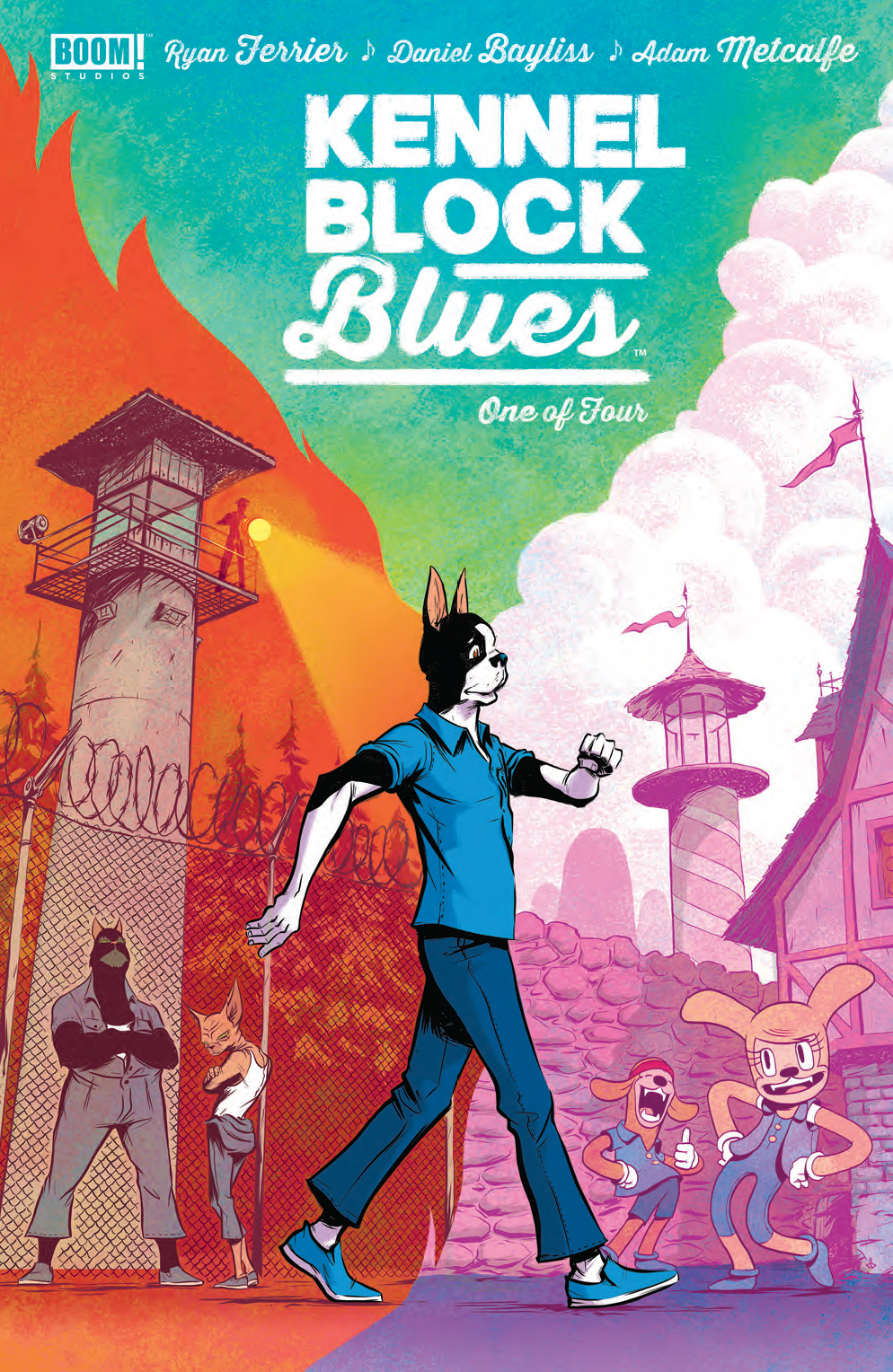 Kennel Block Blues #1 Review