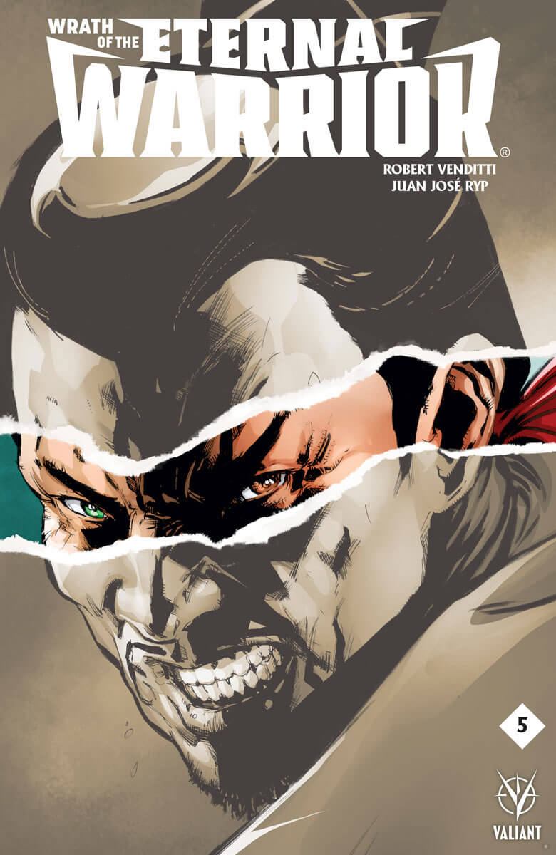 Valiant Preview: Wrath of the Eternal Warrior #5