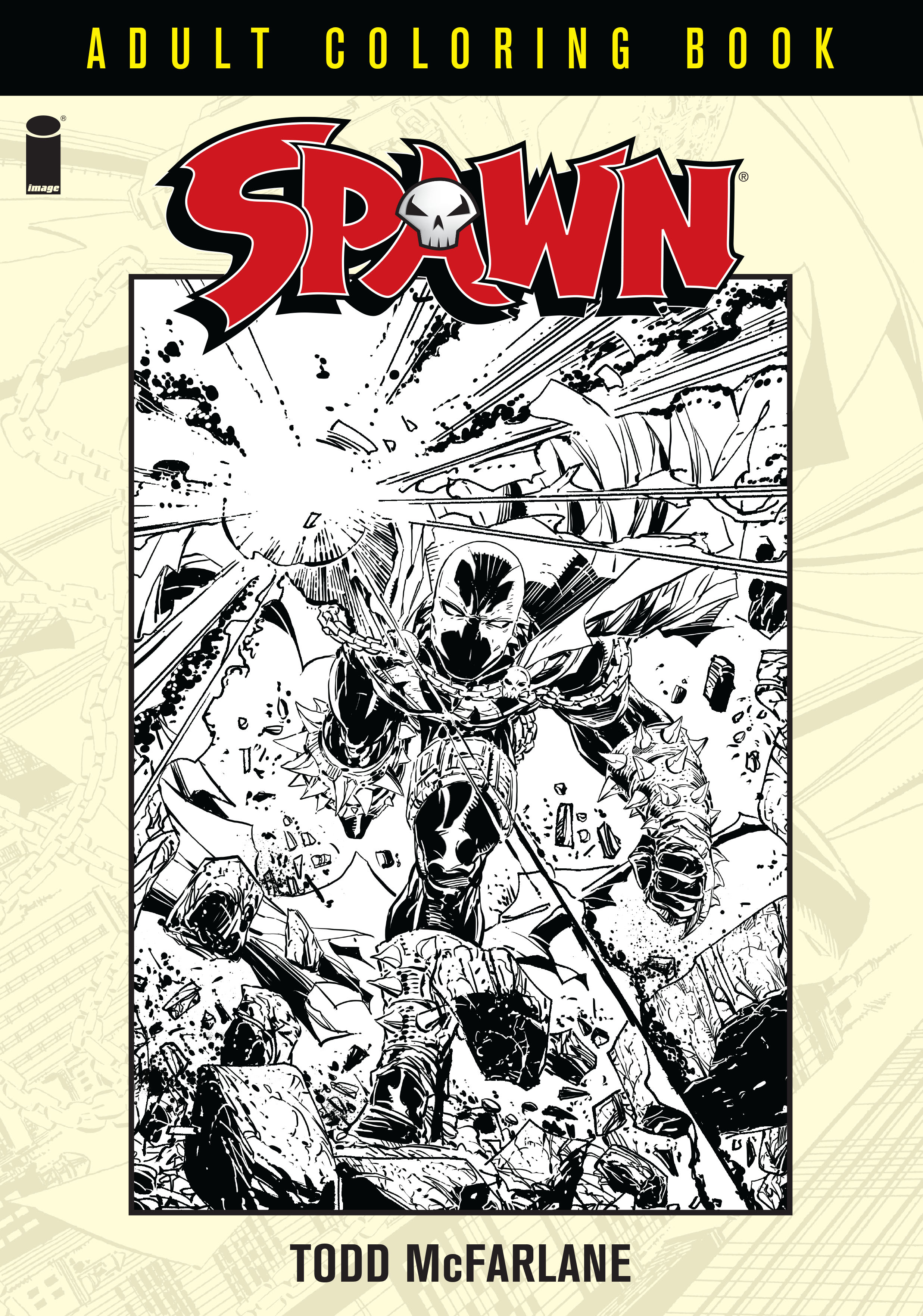 Image Preview: Spawn Coloring Book