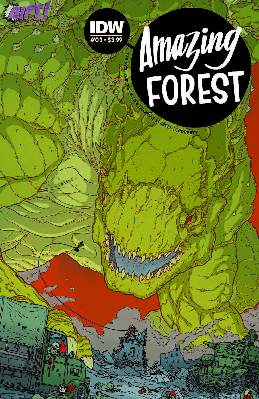[Exclusive] IDW Preview: Amazing Forest #3