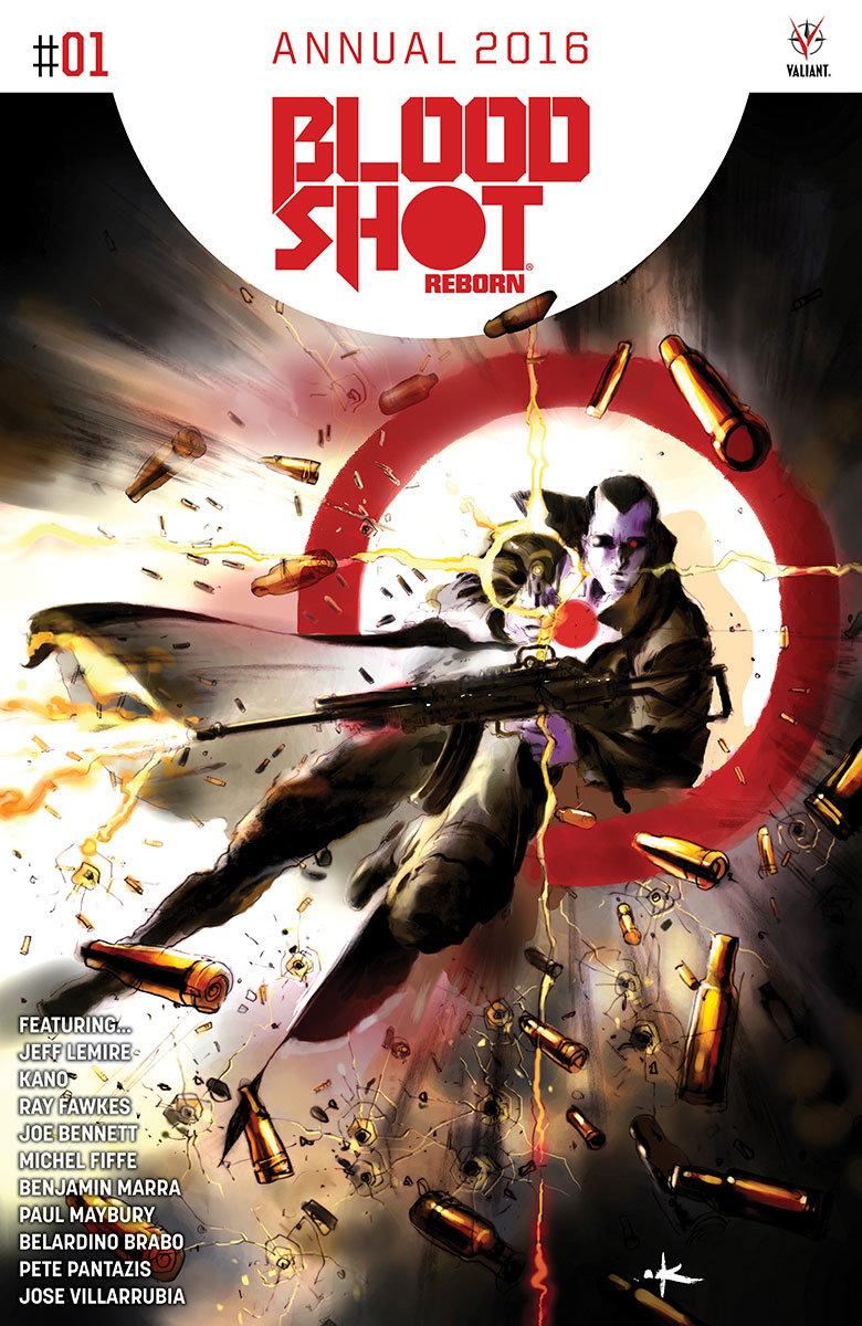 Valiant Preview: Bloodshot Reborn 2016 Annual #1