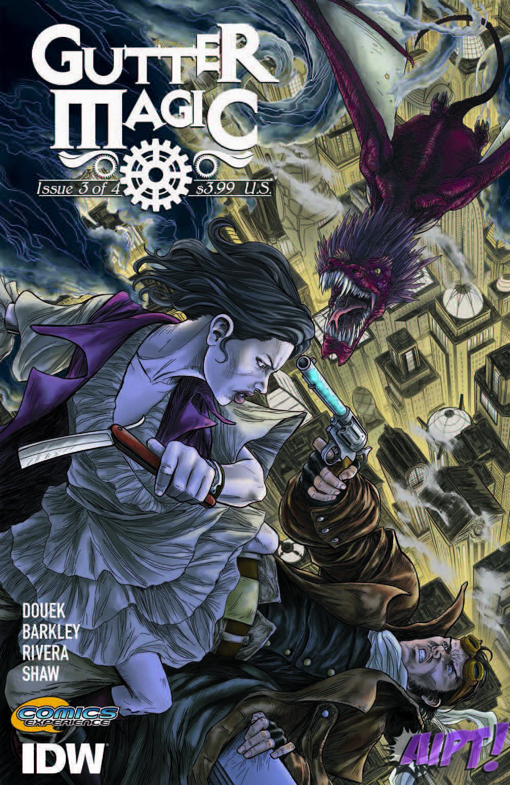 [Exclusive] IDW Preview: Gutter Magic #3