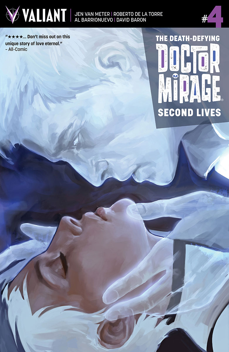 Valiant Preview: The Death-Defying Doctor Mirage: Second Lives #4