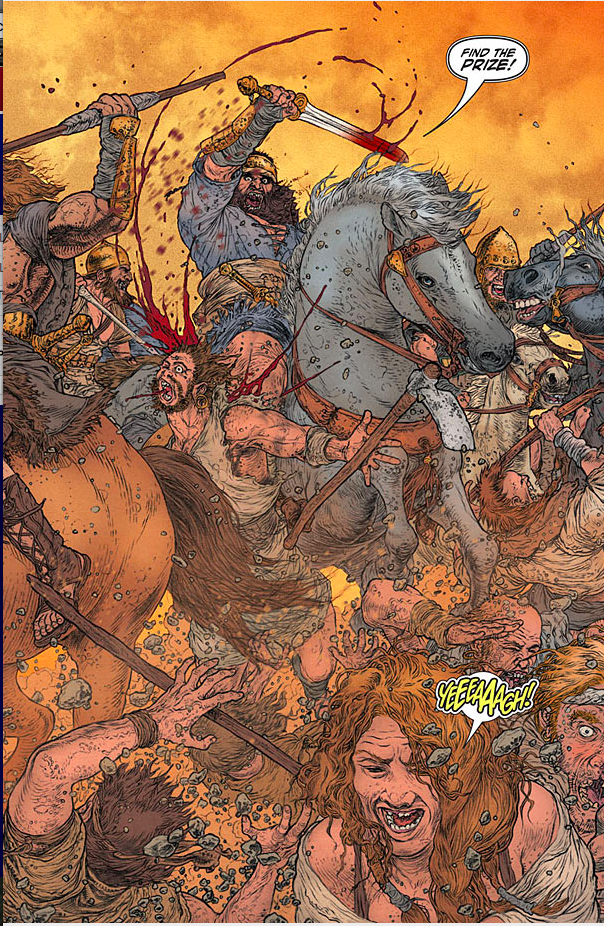 Wrath of the Eternal Warrior #5 Review