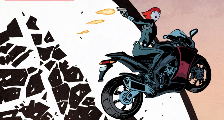 After a recent, well-received run by writer Nathan Edmonson and Artist Phil Noto, Natasha Romanova is back in her own series by the Daredevil team of writer/artist Chris Samnee, co-writer Mark Waid, colorist Matt Wilson, and letterer Joe Caramagna. Is it good?