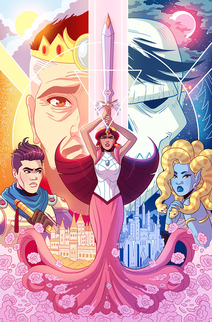Another Castle #1 is the debut of a new all-ages fantasy series by writer Andrew Wheeler, artist/colorist Paulina Ganucheau, and letterer Jenny Vy Tran. Is it good?