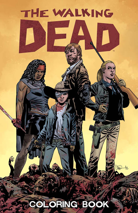 Image Preview: The Walking Dead Coloring Book
