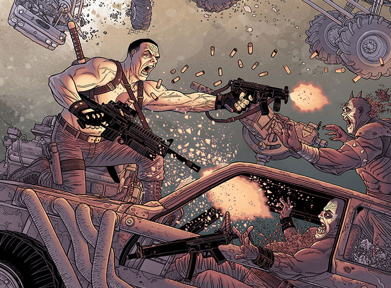 Bloodshot Reborn #12 Review