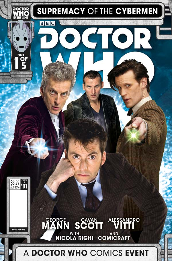 Titan Preview: Dr. Who: Supremacy of the Cybermen #1