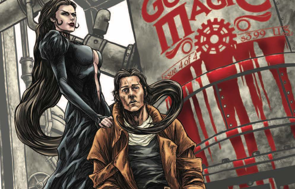 The best miniseries are the ones that you're sad to see go, but dammit an ending must be had! Gutter Magic #4 is here this week, but is it good?