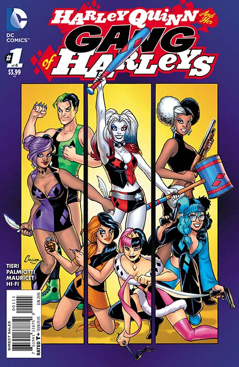 DC Preview:  Harley Quinn and Her Gang Of Harleys #1