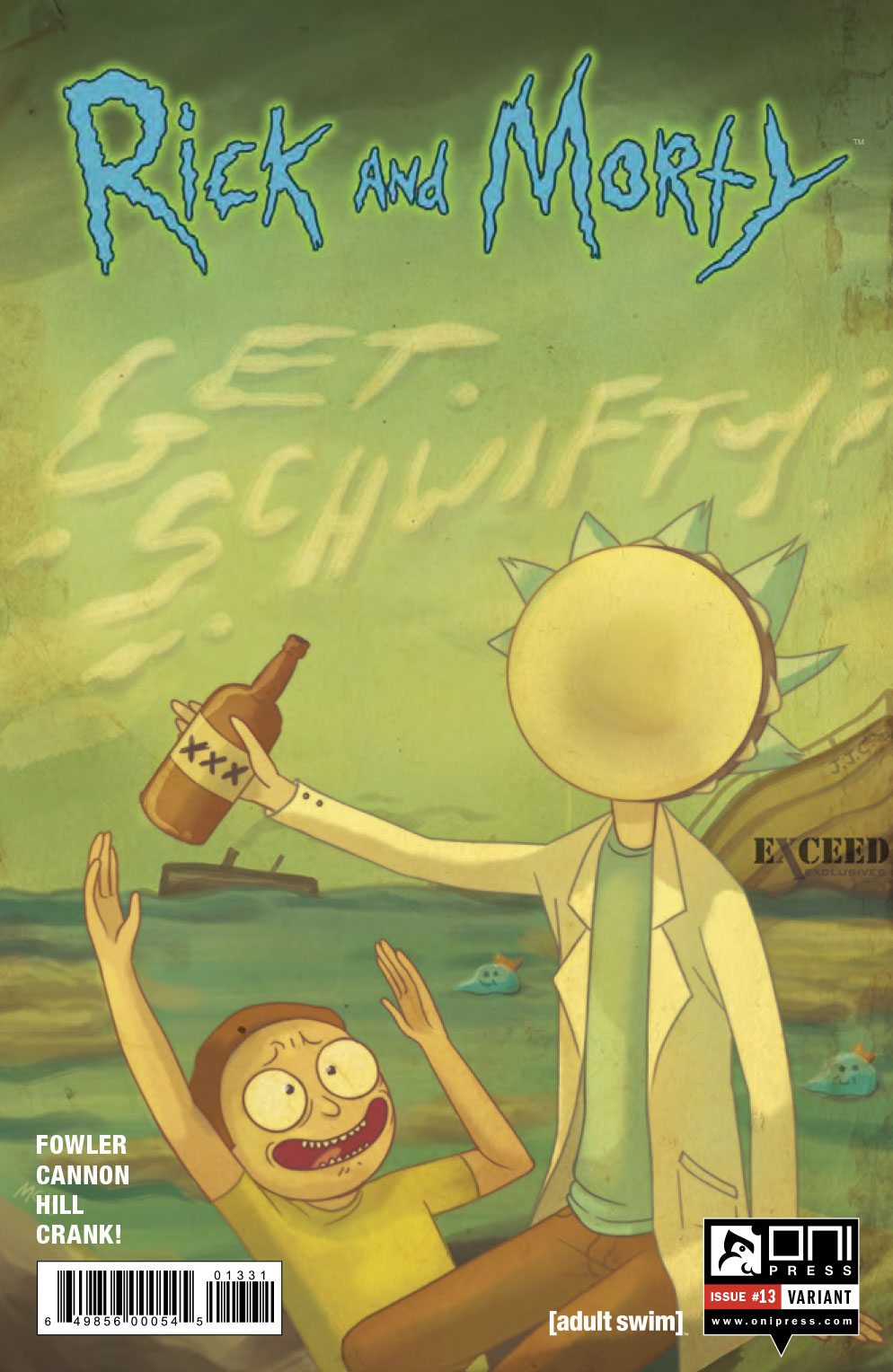Oni Preview: Rick and Morty #13